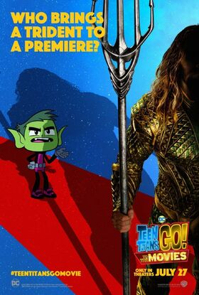 Teen Titans GO To The Movies character poster Beast Boy