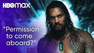 Aquaman Attempts to Save a Submarine's Crew HBO Max