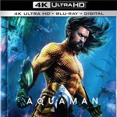 Aquaman Target Exclusive Blu Ray