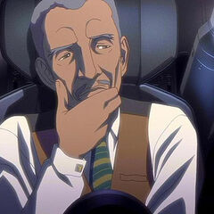 Lucius Fox as he appears in <i>Batman: Gotham Knight</i>.