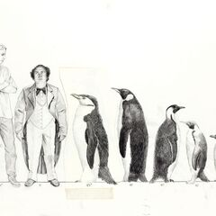 Concept art for The Penguin in <i>Batman Returns</i>.