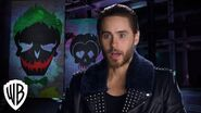 Suicide Squad Behind the Scenes with Jared Leto's Joker Warner Bros