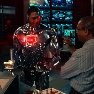 Cyborg accepts his condition and upgrade his cybernetics.