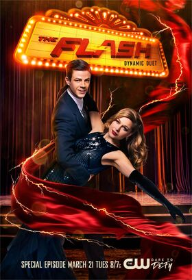 The Flash TV Series3 Poster-Duet