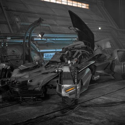Batmobile in <i>Justice League</i>.