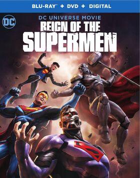 Reign of the Supermen box art