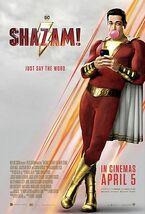 Shazam! theatrical poster
