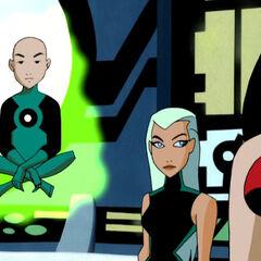 Aquagirl as a member of Justice League.