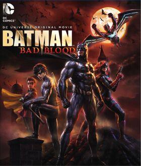 Batman Bad Blood Official Cover