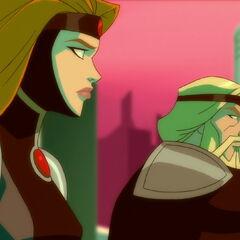 Alura and Zor-El