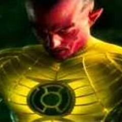 Yellow suited Sinestro