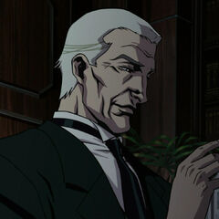 Alfred as he appears in <i>Batman: Gotham Knight</i>.