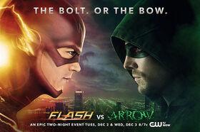 TheFlash-vs-Arrowposter