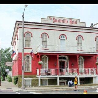 Shots of Smallvile Hotel.