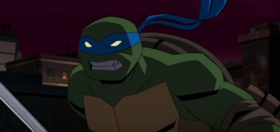 Leonardo Batman vs. Teenage Mutant Ninja Turtles
