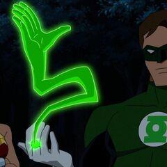 Wonder Woman and Green Lantern.