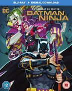 Batman Ninja blu ray cover