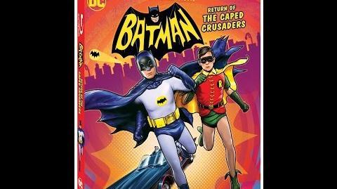 """Trailer - """"Batman Return of the Caped Crusaders"""""""