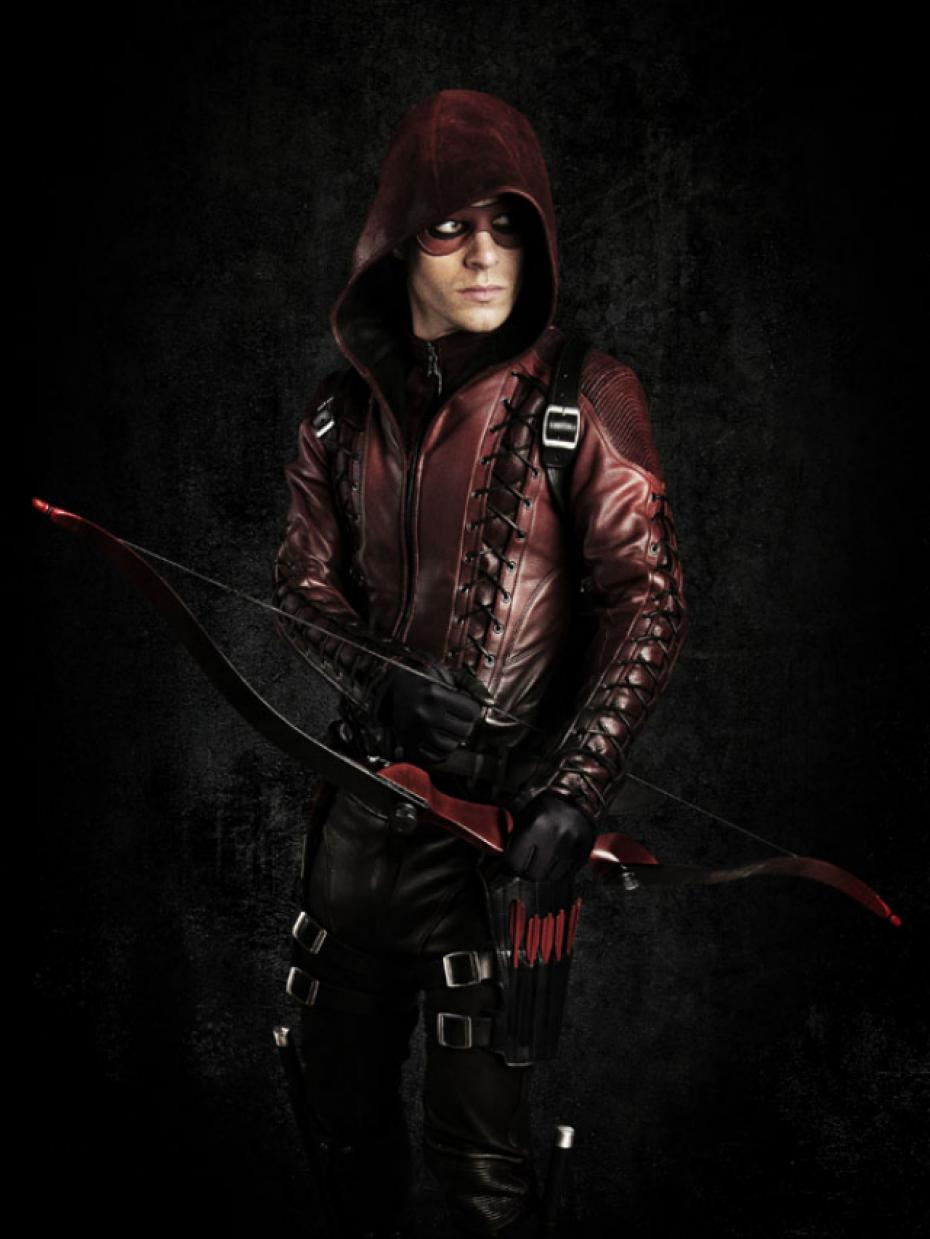 NEW Custom Made Green Arrow 3 Red Arrow Arsenal Roy Cosplay Cos
