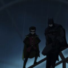 Robin and Batman.
