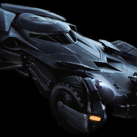 Batmobile in <i>Batman v Superman: Dawn of Justice</i>.