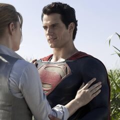 Lois and Superman.