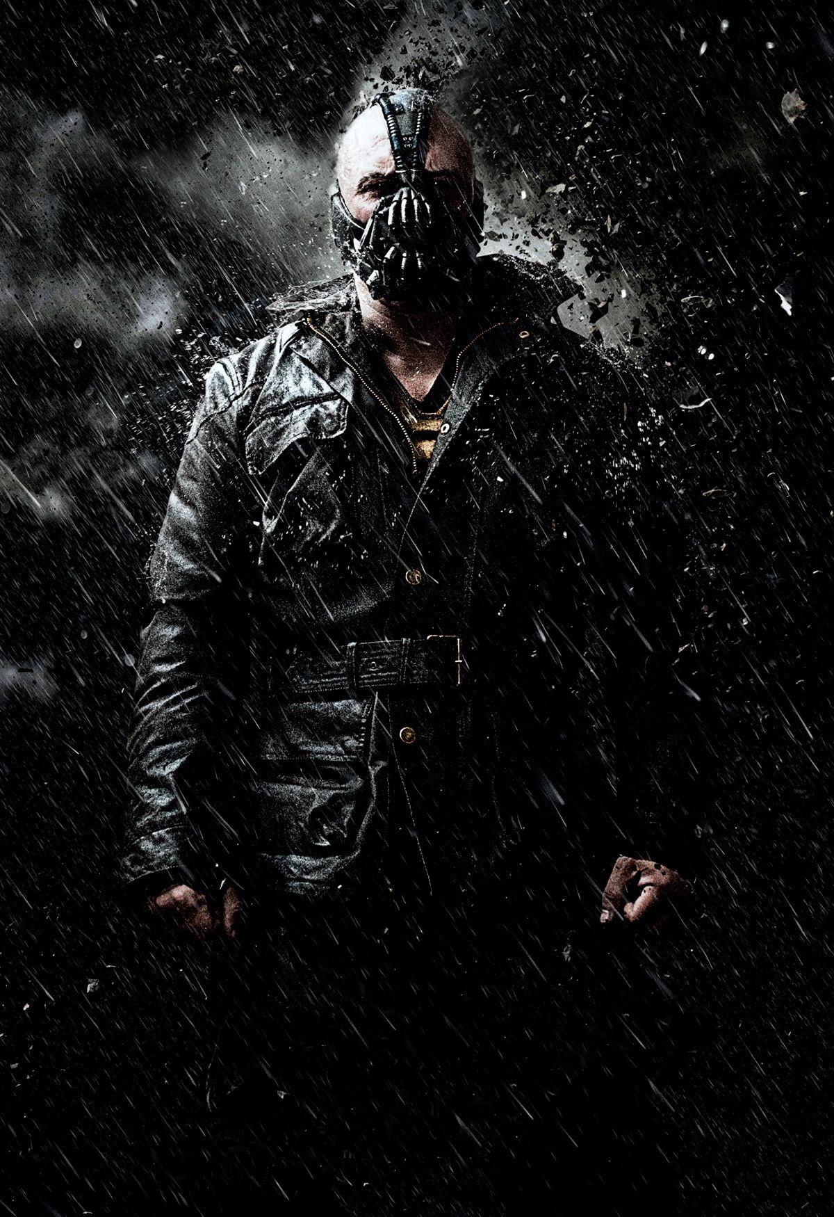 Batman Dark Knight Rises Bane Concept Art