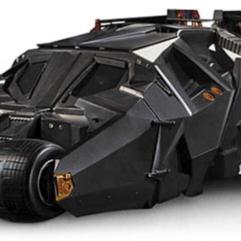 Batmobile in <i>Batman Begins</i>.