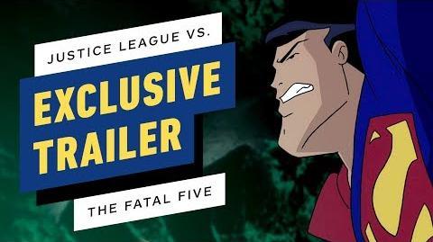 Justice League vs. The Fatal Five - Exclusive Trailer Debut