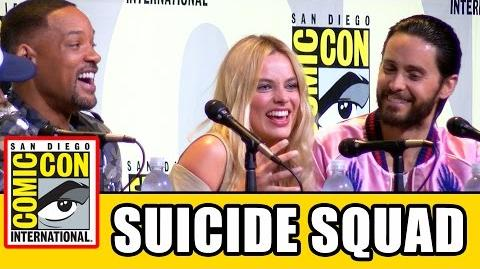 SUICIDE SQUAD Comic Con 2016 Panel Highlights - Will Smith, Margot Robbie, Jared Leto