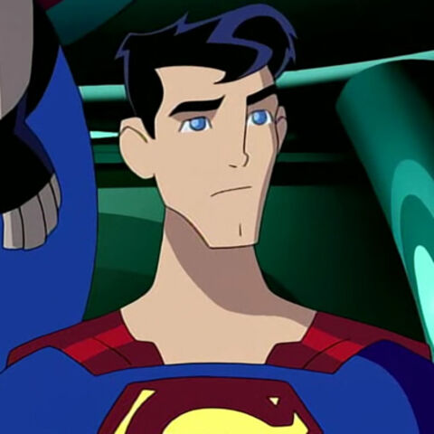 Superman during his first trip to the 31st century