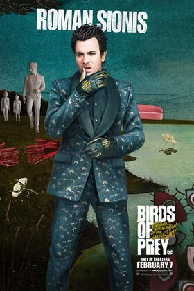 Birds of Prey Character Posters 06