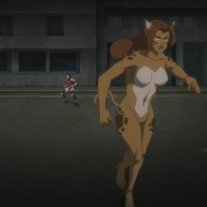 Resultado de imagem para cheetah  Justice League vs. Teen Titans