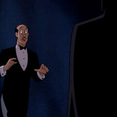 Alfred sees Bruce become Batman.