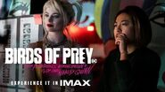 Birds of Prey Director Cathy Yan Experience It In IMAX®