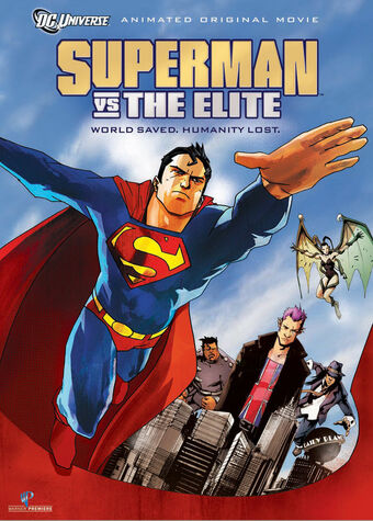 Superman Vs The Elite Dc Movies Wiki Fandom