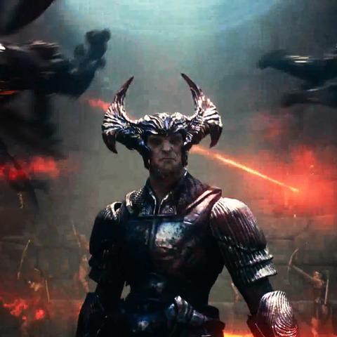 Steppenwolf arrives at Themyscira.
