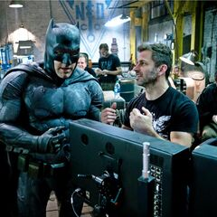 Ben Affleck's Batman and Zack Snyder