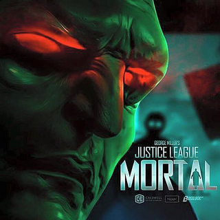 Martian Manhunter teaser poster by BossLogic Inc that was showed at ComiCon