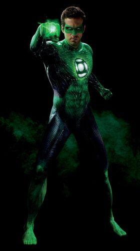 Renolds as Green Lantern