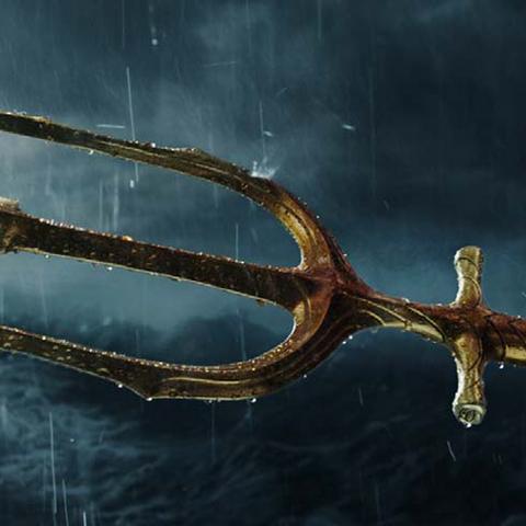 Trident of Neptune in <i>Aquaman</i>.