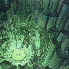 Jor-El's lab by <a href=
