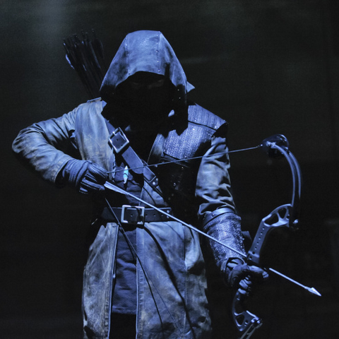 Merlyn as the Dark Archer.