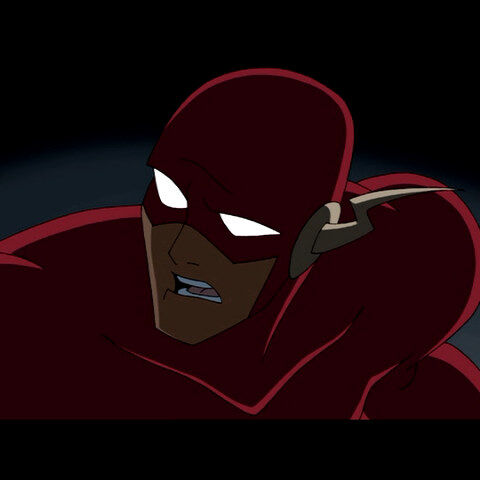 Flash during the invasion.