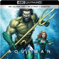 Aquaman Best Buy Exclusive Blu Ray