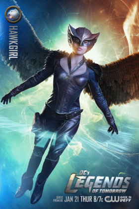 Hawkgirl Card