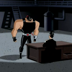 Bane has a deal with The Penguin.