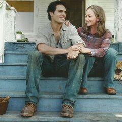 Clark and Martha.