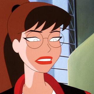 Kara as a civilian.