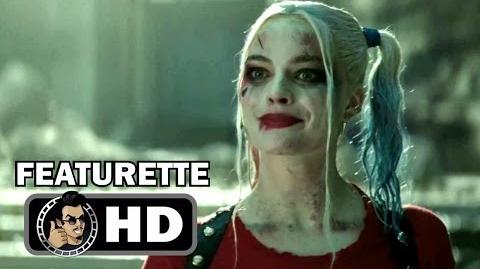 SUICIDE SQUAD Extended Cut - Harley Quinn Footage & Featurette (2016) Margot Robbie DC Movie HD